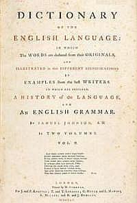Samuel Johnson: 1755